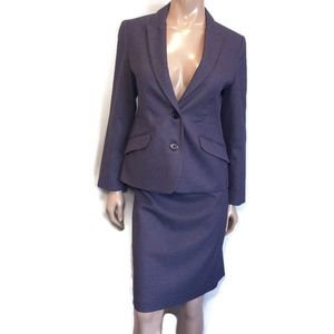 CLEO BY LOUBEN 2 Pc Houndstooth Skirt Suit Blazer